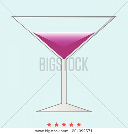 Martini Glass It Is Icon .