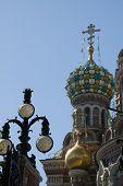 "Temple ""Spas Na Krovi"" in Saint-Petersburg Russia poster"