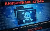 Ransomware Attack Malware Hacker Around The World Background poster