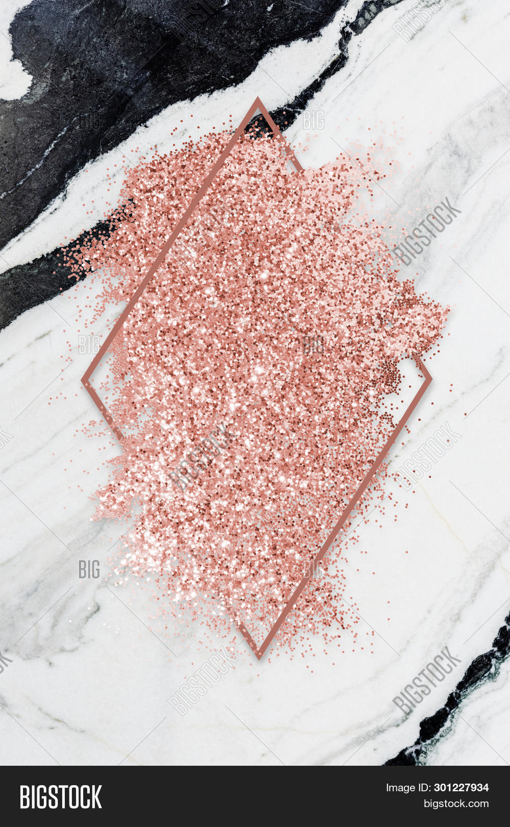 Pink Gold Glitter Image Photo Free Trial Bigstock