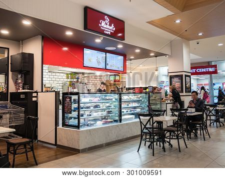 Melbourne, Australia - May 12, 2019: Michels Patisserie Is A Franchised Bakery Business, Managed By