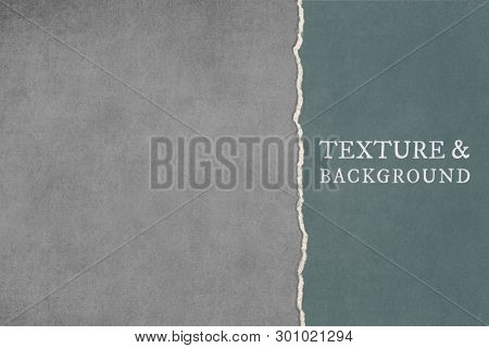 Torn grunge paper with ripped edge background