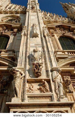The Duomo Closeup, Milan