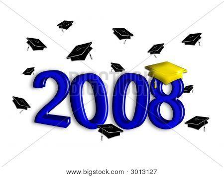 Graduation Class Of 2008 - Blue