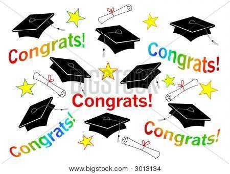 Graduation Hats & Congrats