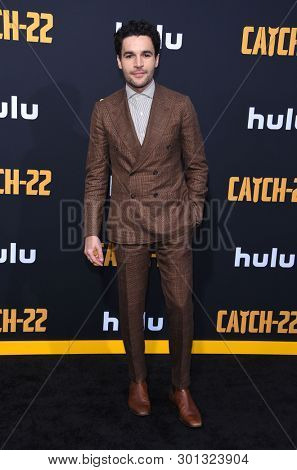 LOS ANGELES - MAY 07:  Christopher Abbott arrives for the Hulu's 'Catch-22' US. Premiere on May 07, 2019 in Hollywood, CA