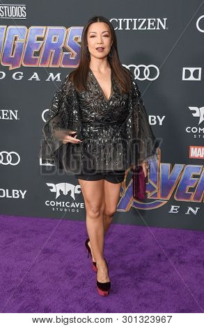LOS ANGELES - APR 22:  Ming-Na Wen arrives for the