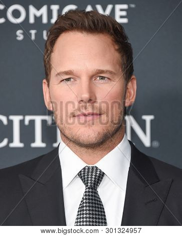 LOS ANGELES - APR 22:  Chris Pratt arrives for the