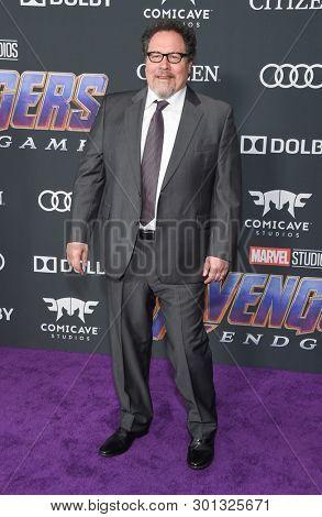LOS ANGELES - APR 22:  Jon Favreau arrives for the