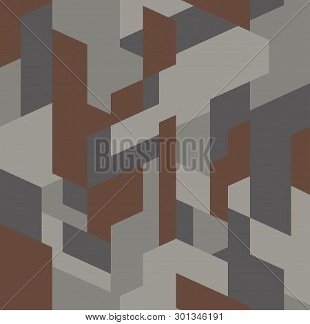 Isometric Camouflage Vector Photo Free Trial Bigstock