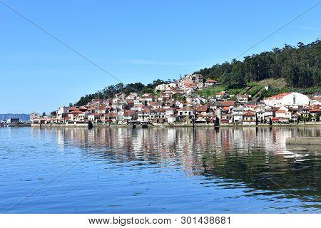 Small Fishing Village. Combarro, Rias Baixas, Spain.