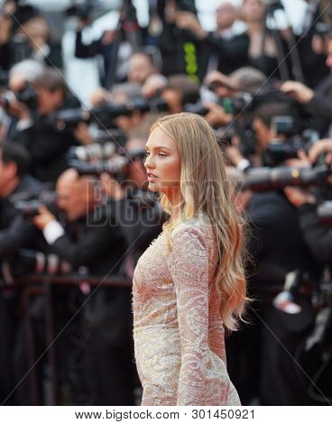 Romee Strijd attends the opening ceremony during the 72nd Cannes Film Festival on May 14, 2019 in Cannes, France.