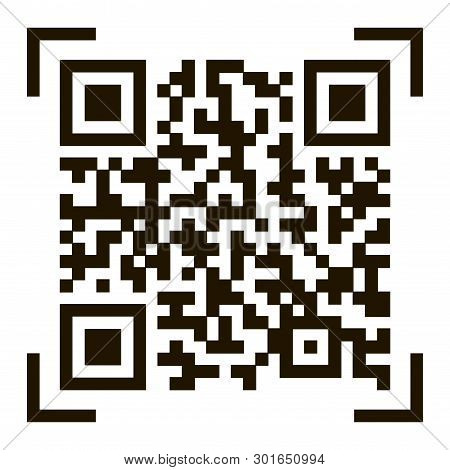 Qr Code  Sample Qr Vector & Photo (Free Trial) | Bigstock