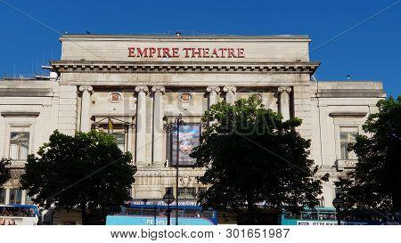 Empire Theatre In Liverpool.