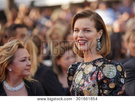 Eva Herzigova attends the screening of