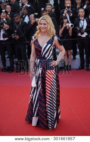 Natacha Regnier attends the screening of