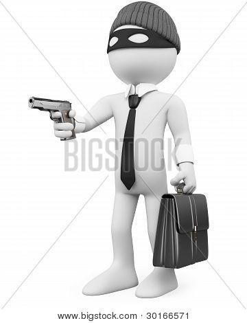 White-collar Criminal With A Gun