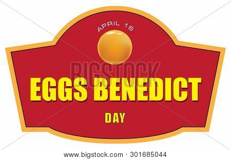 Shortcut For April Event Eggs Benedict Day