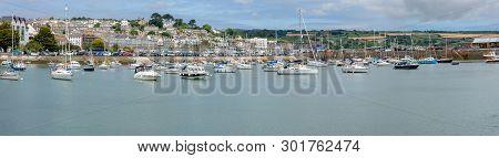 Penzance, Cornwall, England - July 24, 2018: Panoramic Of United Kingdom, South West England, Cornwa