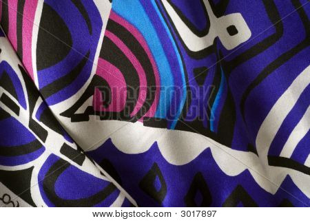 Colorful Silk Background