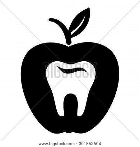 Hard Tooth Icon. Simple Illustration Of Hard Tooth Icon For Web