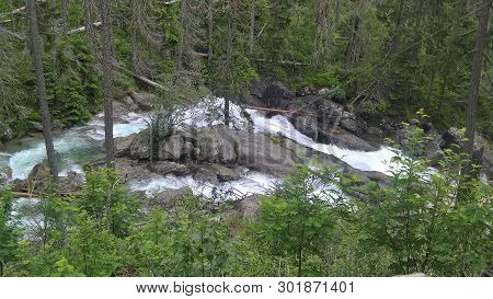 The Cold Brook Valley Is A Typical Glacier Valley. High Tatras