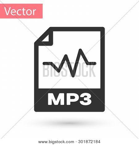 Grey Mp3 File Vector & Photo (Free Trial)   Bigstock