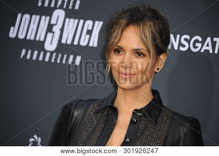 Halle Berry at the Los Angeles premiere of 'John Wick: Chapter 3 - Parabellum' held at the TCL Chinese Theatre in Hollywood, USA on May 15, 2019.