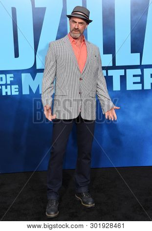 LOS ANGELES - MAY 18:  Chris Meloni arrives for the 'Godzilla: King of the Monstersl' Hollywood Premiere on May 18, 2019 in Hollywood, CA