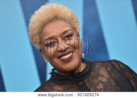 LOS ANGELES - MAY 18:  CCH Pounder arrives for the 'Godzilla: King of the Monstersl' Hollywood Premiere on May 18, 2019 in Hollywood, CA