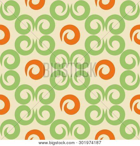 Seamless Kazakh, Oriental, Muslim, Asian Pattern.seamless Azi Pattern. Ornament Or Background Kyrgyz
