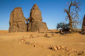 Sahara Desert. Djanet, South Algeria, North Africa