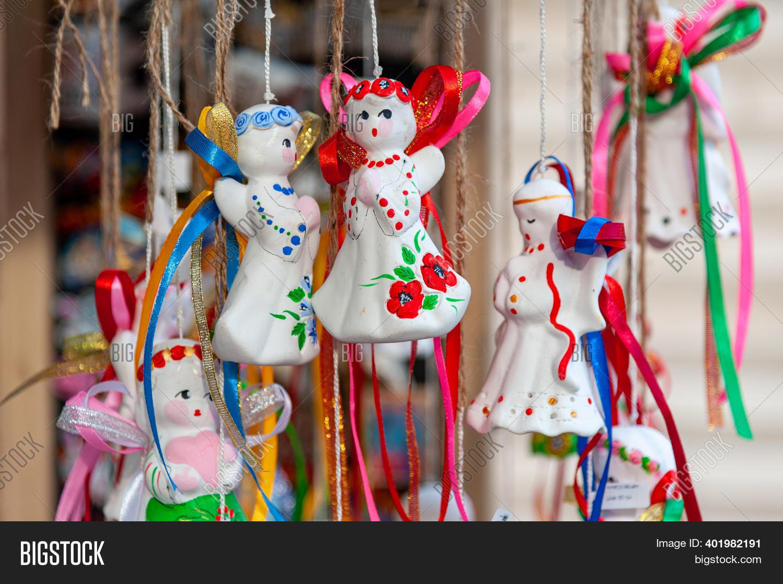 Lviv Christmas Market 2021 Decorative Toys City Image Photo Free Trial Bigstock