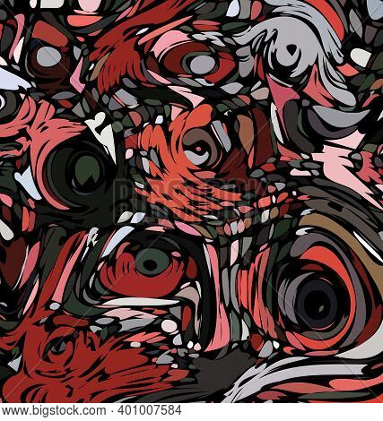 Colored Background Image Abstract Image Of Jealousy