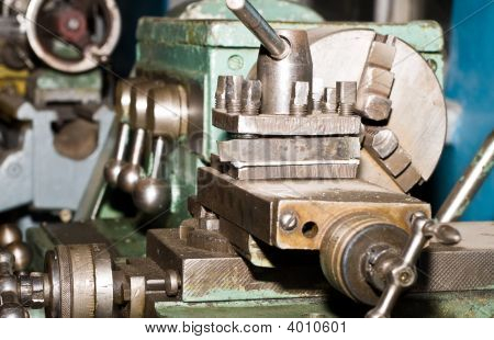 Lathe Is Ready To Work