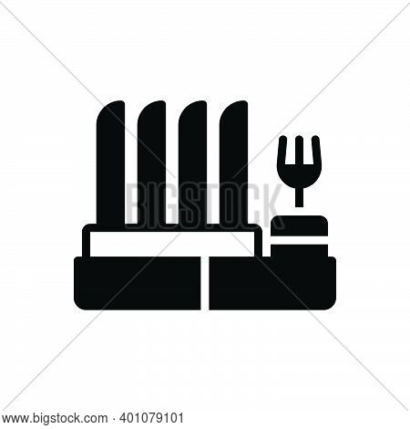 Black Solid Icon For Dish-rack Rack Display Household Kitchen Cleaner Hanging Housework