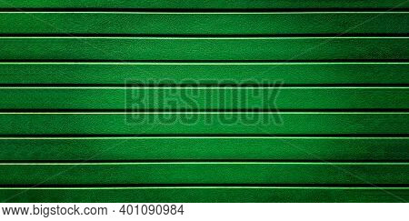 Green Wood Background Texture The Fence, Siding. Plastic Fence Green Faux Wood Striped