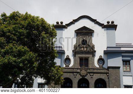 Faculty Of Education Of The La Laguna University. San Cristobal De La Laguna. Tenerife. Canary Islan