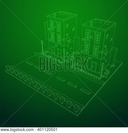 City Building Real Estate Concept.