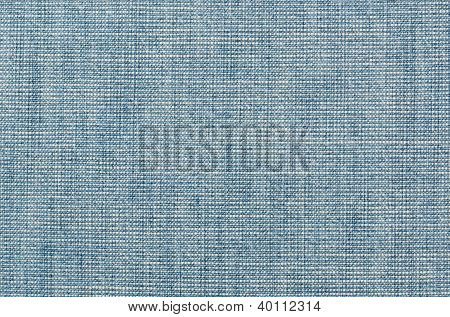 close up old blue jeans background pattern poster