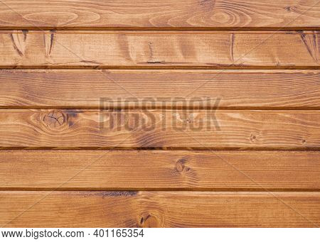 Shabby Wooden Wall Background. Texture Of Obsolete Carpentry Wooden Boards, Panel. Vintage Orange Wo