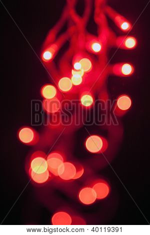Magic sparkle, light dots and boken effect