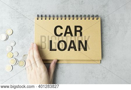 Car Loan Payment Past Due Envelop With Past Due And Urgent Stamps On A Wooden Desk