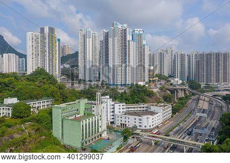 7 Oct 2019 The Area Of Kwun Tong District At Hong Kong