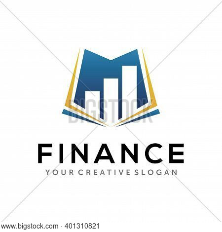 Finance Logo. Business, And Accounting Logo Design Vector