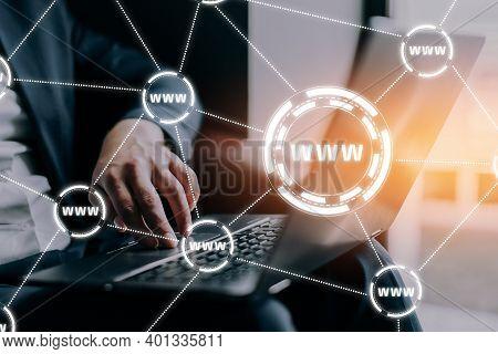 Www - World Wide Web On The Global Internet.