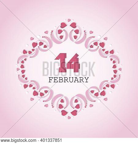 Valentines Day, Background, Valentines, Vector, Festive, Heart, Openwork, Greeting, Card, Frame, Hea