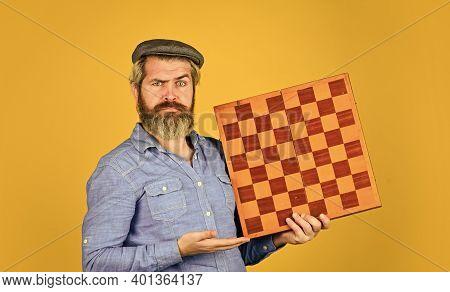 Enjoy Tournament. Grandmaster Player. Chess Lesson. Cognitive Development. Strategy Concept. Chess C