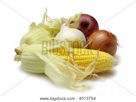 Corn And Onion