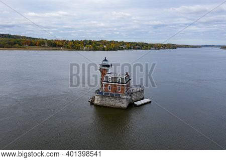 The Hudson Athens Lighthouse, Sometimes Called The Hudson City Light, Is A Lighthouse Located In The